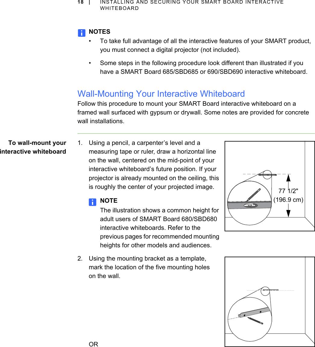 smart board 685ix installation instructions