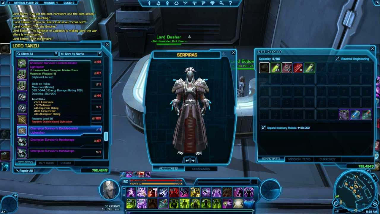 Swtor how to get tier 2 gear