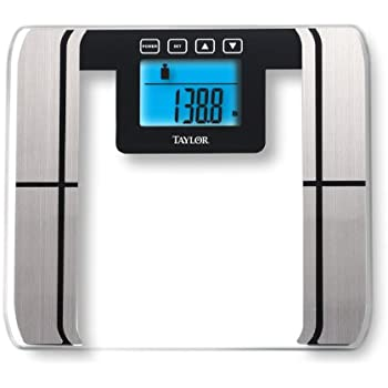 Taylor glass body fat scale instructions