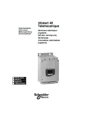 telemecanique altistart 48 user manual pdf