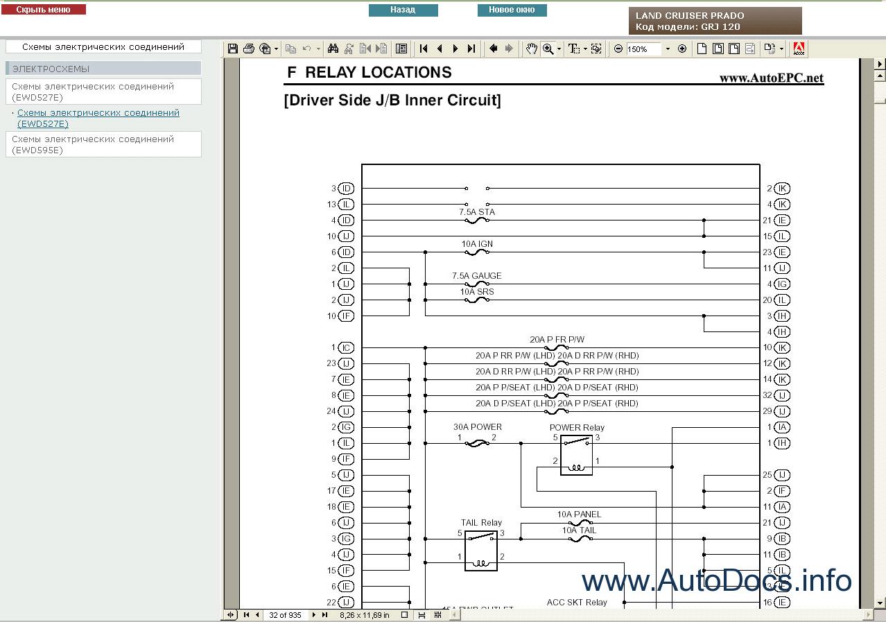 toyota land cruiser prado 120 repair manual pdf