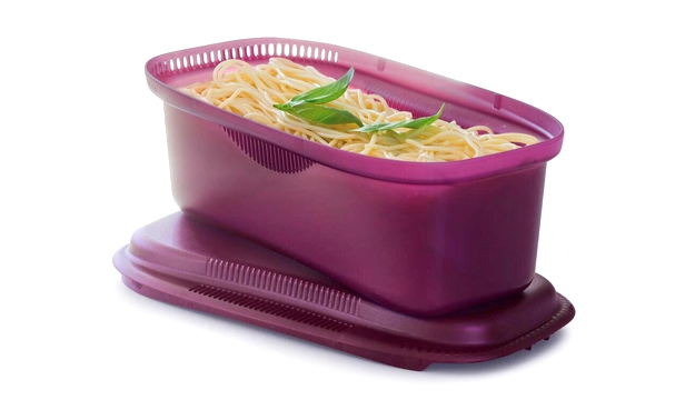 Tupperware microwave pasta cooker manual