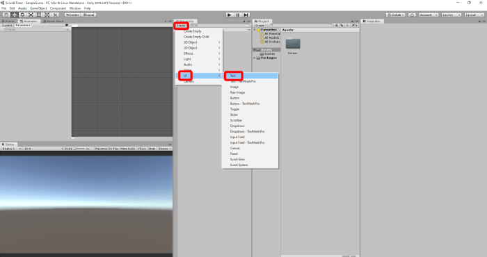 Unity c how to create canvas group