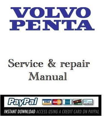 volvo penta d3 workshop manual