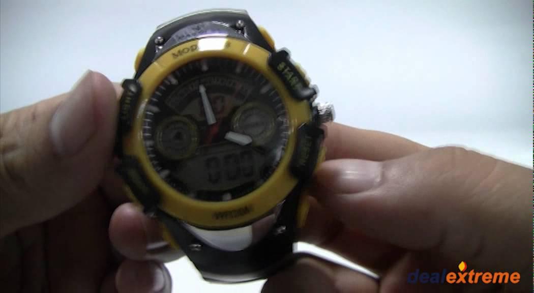 wr30m watch instructions alarm