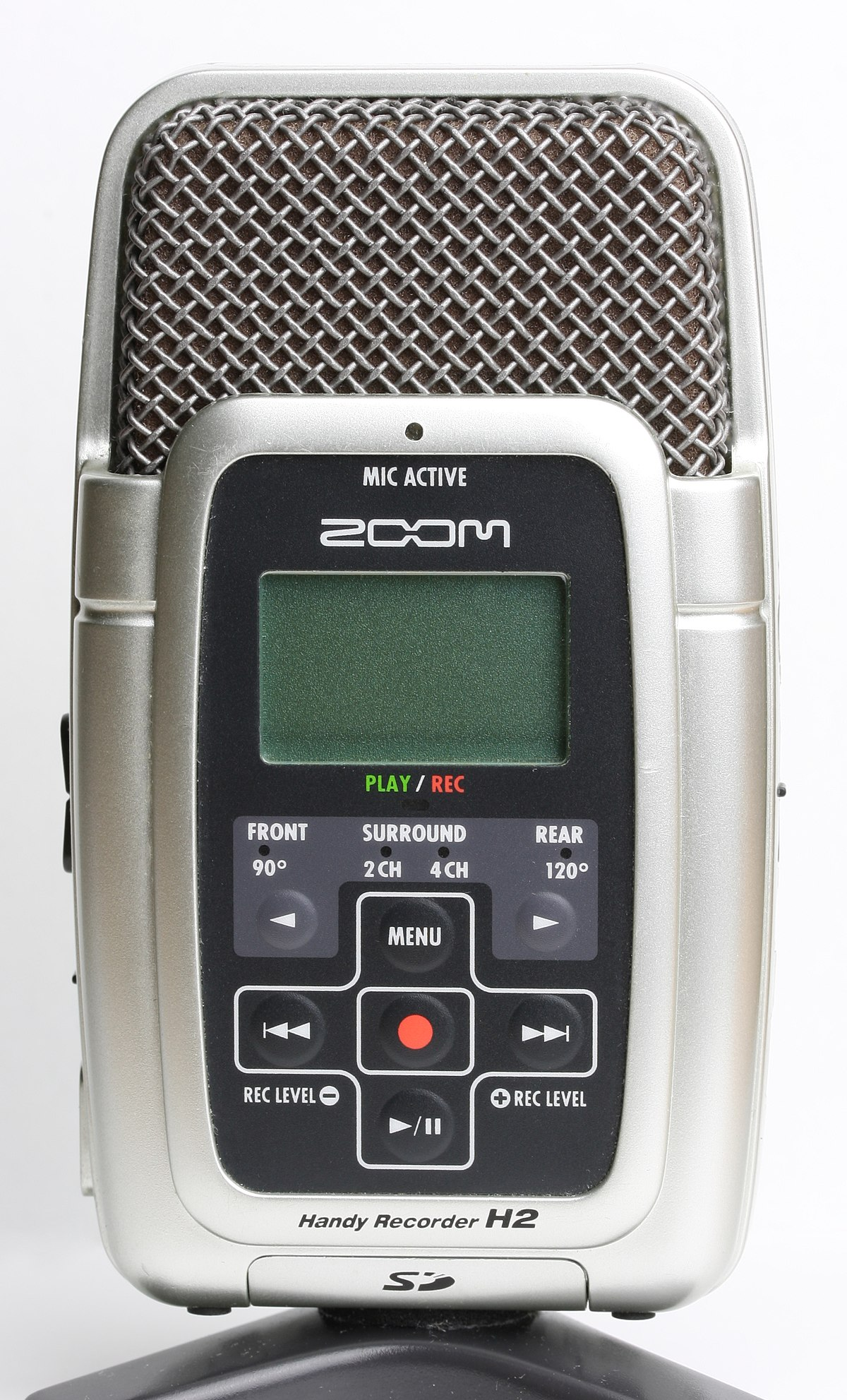 Zoom handy recorder h2 user manual